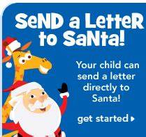 Naddez39s tidbyts have your child send a letter directly for Have santa write your child letter