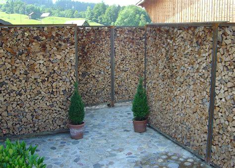 Garten Sichtschutz Mit Steinen by Trennwand Garten Stein Sichtschutz Traumgaertench