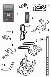 Liftmaster 8155 Garage Door Opener Replacement Parts