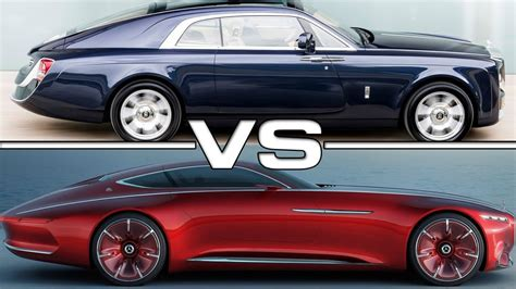 8 Mil Rolls-royce Sweptail Vs 2018 Mercedes Maybach