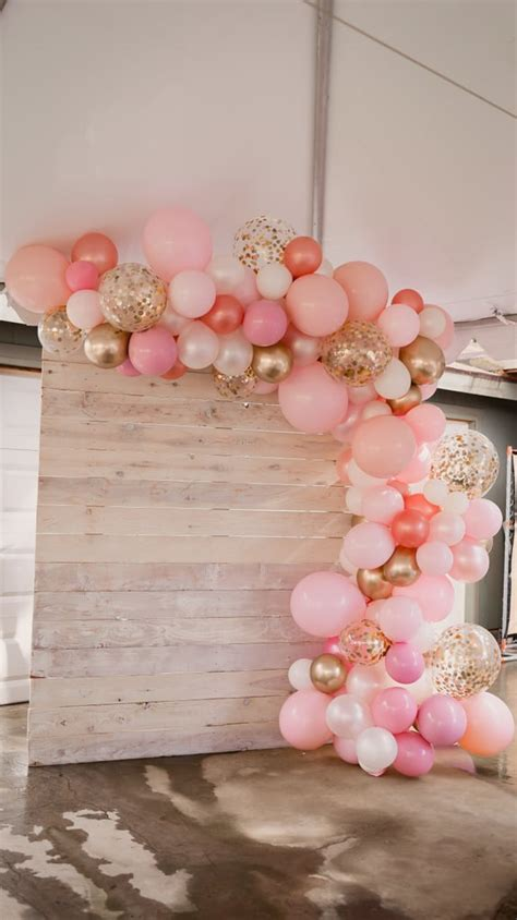 pink  gold baby shower ideas popsugar family photo