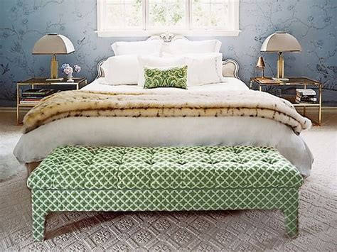 ottoman for foot of bed bedroom ottomans in 10 stylish and elegant designs https
