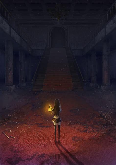 Alone Anime Wallpaper - anime alone ruins lanb wallpaper 1440x2036