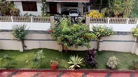 kerala home gardens youtube