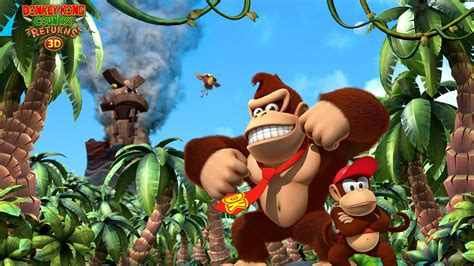 Donkey Kong Country Returns Wallpaper ·①