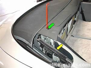 Porsche 911 Carrera Convertible Top Mechanism Repair