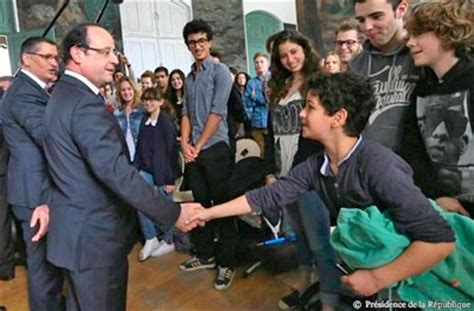 lyc 233 e buffon visite de m hollande