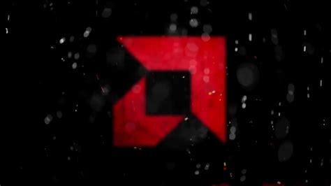 amd logo  fire wallpaper engine p  fps youtube