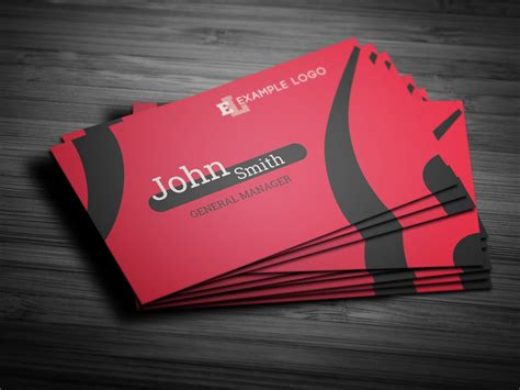 professional  photoshop business card template ideas