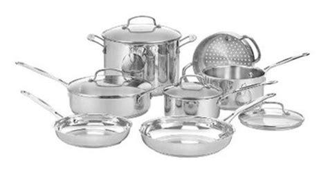 bontoncom cuisinart chefs classic  piece stainless steel cookware set  piece mixing bowl
