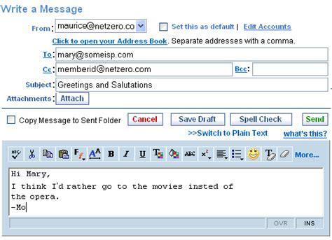 netzero phone number netzero message center using spell check mobile