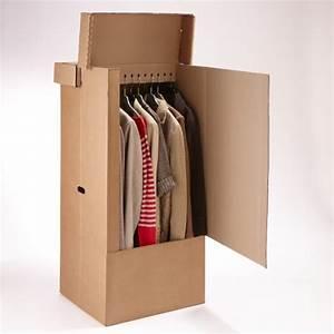 Carton De Déménagement Pas Cher : carton penderie ~ Melissatoandfro.com Idées de Décoration
