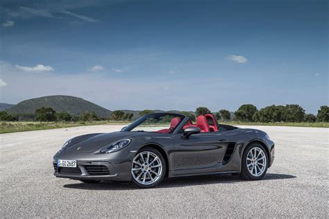 red porsche boxster 2017 2017 porsche 718 boxster first drive review