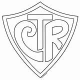 Shield Outlines Coloring Pages Ctr Clipart Different Printable Blank Template Sheets Crest Designs Drawing Stencil sketch template