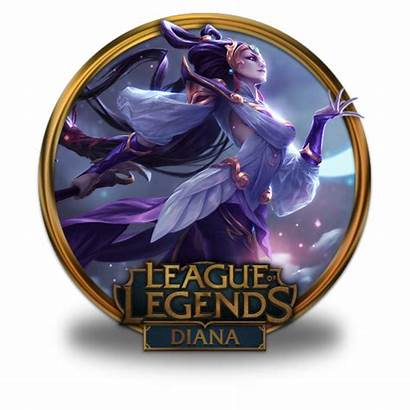 Diana Icon Goddess Lunar League Legends Icons