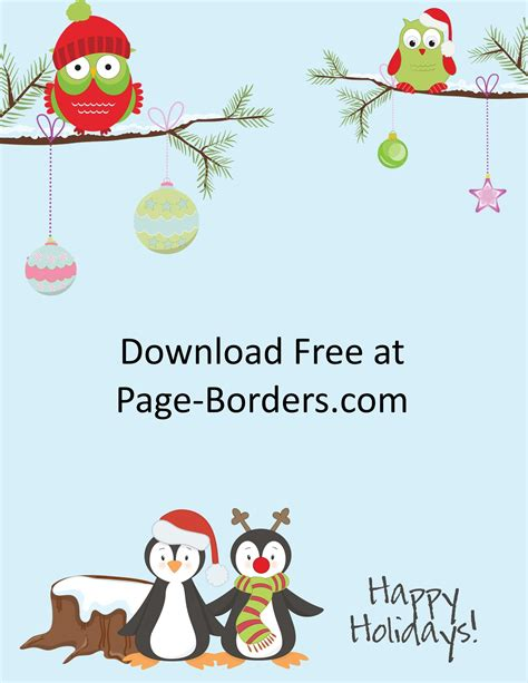 christmas backgrounds page borders backgrounds