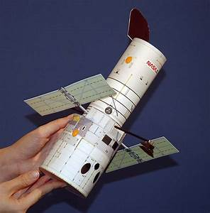 HubbleSite - Hand-Held Hubble - Completed paper model