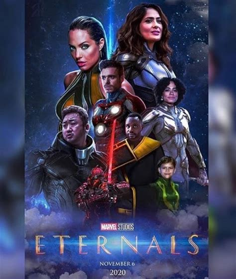 Marvel 'Eternals' fan poster release, 'Gilgamesh ...