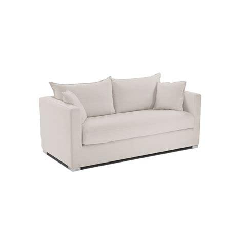 passe partout canapé canapé deux places pour petit espace lodj