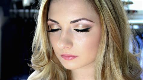 makeup tutorial soft wedding makeup   naked palette ellie cher youtube