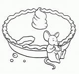 Coloring Pie Pages Pumpkin Printable Apple Fancy Nancy Thanksgiving Mouse Eating Creature Stirring Even Sheets Print Popular Clip Cherry Adults sketch template
