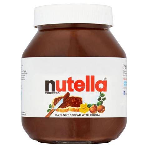 750g cuisine nutella hazelnut chocolate spread 750g