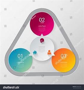 Three Step Process Indicator Simple Stylish Multicolor ...