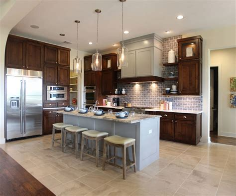 kitchen island remodel brown kitchen cabinets modification for a stunning kitchen