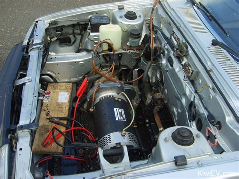 Electric Motor Conversion by Classic Mini Engine Conversion For Sale