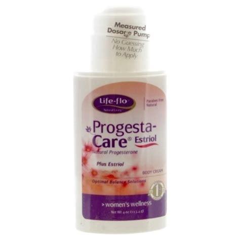 progesta care estriol body cream life flo