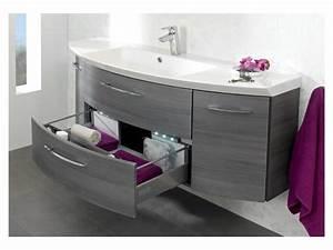 meuble salle de bain coin arrondi salle de bain idees With meuble de salle de bain arrondi