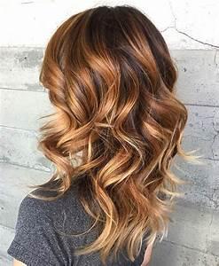 Ombré Hair Marron Caramel : ombre hair marron caramel tendance printemps t 2016 ~ Farleysfitness.com Idées de Décoration