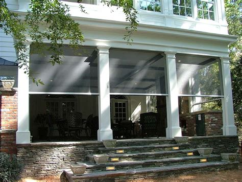 screened  porch rainier shade