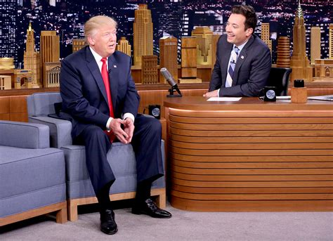 fallon trump jimmy donald interview tonight criticized reactions candidate republican presidential host during