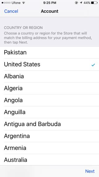 How To Change The Country Or Region For Your Apple Id