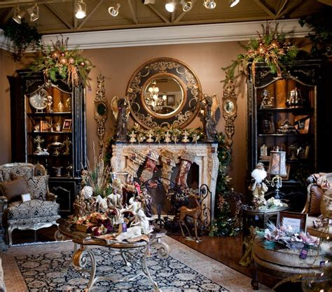 christmas holiday mantels images  pinterest