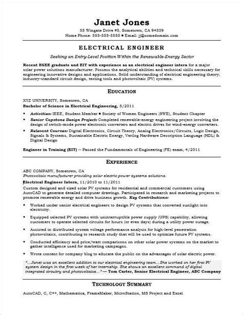 best optical engineering resume contemporary resume