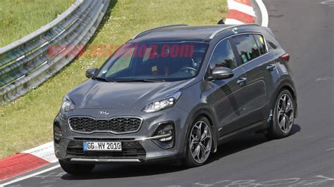 2019 Kia Sportage Crossover Spied Without Camouflage