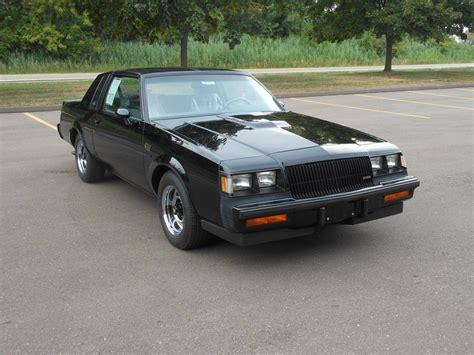 Buick Grand National by 1987 Buick Grand National For Sale 1859666 Hemmings