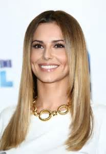 Cheryl Cole Long Lace Front Blonde Straight Remy Human