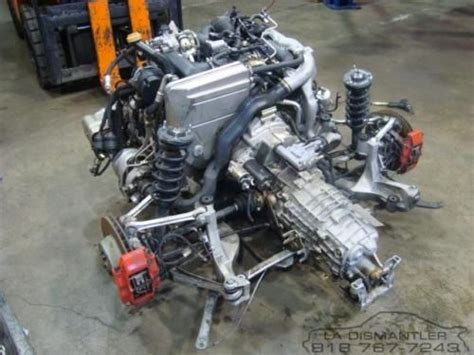Porsche 911 996 Twin Turbo Engine Motor And 6-speed