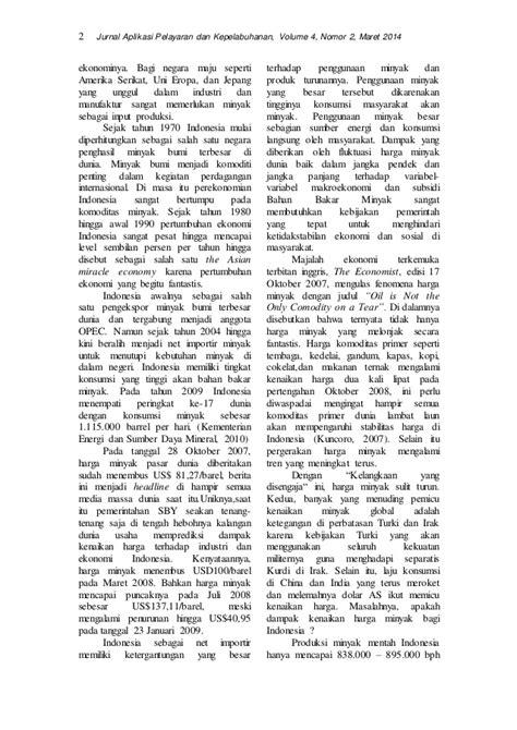 JURNAL PDP VOL 4 NO 2 Benny Agus Setiono Fluktuasi Harga