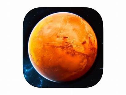 Mars Icon Ios7 Dribbble Planet Icons Ios