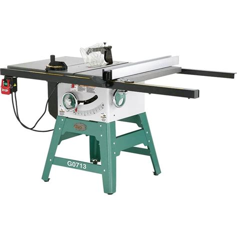 grizzly    hp left tilting contractor style table