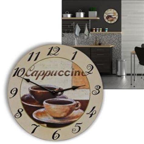 wanduhr italienisches design wanduhr cappuccino quot italienische impressionen 2