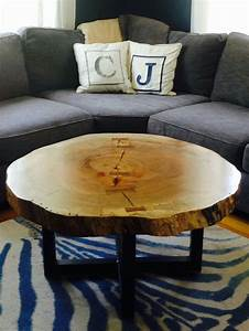 25 best ideas about log coffee table on pinterest log With round log coffee table