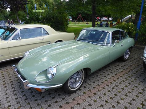 Jaguar E-type, Vintage Cars & Bikes In Steinfort Am 06.08