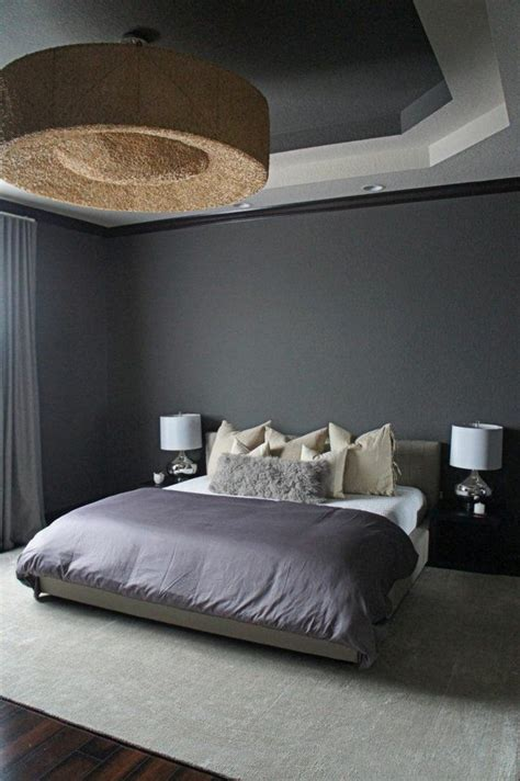 deco chambre adulte gris décoration de chambre 55 idées de couleur murale et