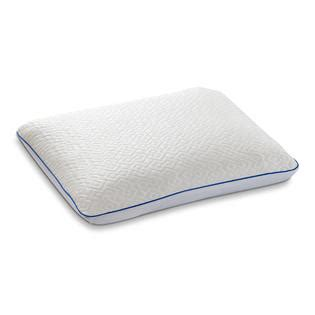 pillow that stays cool serta cool renew gel memory foam pillow