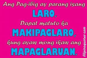 Mga Tagalog Love Quotes. QuotesGram